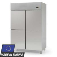 Armoire réfrigérée à poissons Profi 1400 EN 600 x 400 - avec 4 demi-portes