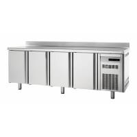 Bäckereikühltisch Premium 4/0 mit Aufkantung