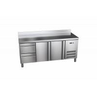 Kühltisch ProLine 600 2/2 mit Aufkantung