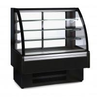 Kühlvitrine Profi 130 - rundes Frontglas | Kühltechnik/Kühlvitrinen/Tischkühlvitrinen