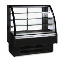 Kühlvitrine Profi 130S - rundes Frontglas | Kühltechnik/Kühlvitrinen/Tischkühlvitrinen