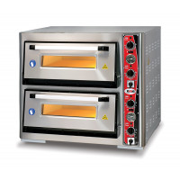 GMG Pizzaofen Classic 4 + 4x34cm mit Thermometer | Kochtechnik/Pizzaöfen/Doppelkammer-Pizzaöfen
