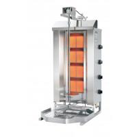 Potis Dönergrill / Gyrosgrill Erdgas GD4 - achteckige Fettwanne | Kochtechnik/Grills/Döner- & Gyrosgrills
