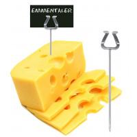 Porte-étiquettes en inox