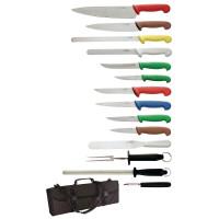Ensemble de couteaux à hygiène avec sachet - 15 pièces