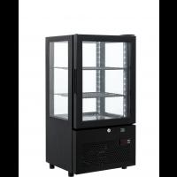 Kühlvitrine ECO 58 Liter schwarz | Kühltechnik/Kühlvitrinen/Tischkühlvitrinen