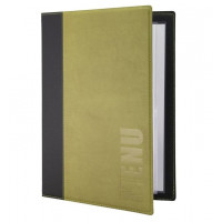 Porte-menu Trendy A4 vert