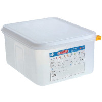 Araven Farbkodierte Lebensmittelbehälter GN 1/2, 15 cm | Lager & Transport/Lebensmittelaufbewahrung/Vorratsbehälter/Lebensmittelbehälter