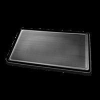 Plaque de cuisson UNOX en aluminium, perforée, revêtement téflon