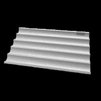UNOX Backblech Baguette Aluminium   Kochtechnik/Heißluftöfen & Kombidämpfer/Zubehör
