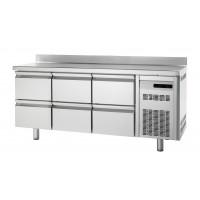 Tiefkühltisch Premium 0/6 mit Aufkantung | Kühltechnik/Kühltische/Tiefkühltische