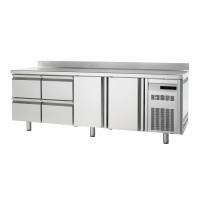 Tiefkühltisch Premium 2/4 mit Aufkantung | Kühltechnik/Kühltische/Tiefkühltische