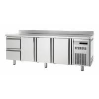 Tiefkühltisch Premium 3/2 mit Aufkantung | Kühltechnik/Kühltische/Tiefkühltische