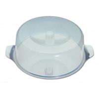 Plat à tarte, diamètre 30cm, avec cloche incassable, hauteur 11cm