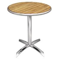Table de café Bolero 600mm ronde + pliante