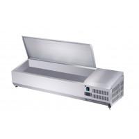 Edelstahl-Kühlaufsatz ECO 3x GN 1/3 + 1x GN 1/2 | Kühltechnik/Kühlaufsätze