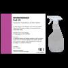 Nettoyant intensif Profi, bidon de 10 l avec robinet et flacon vide 500 ml